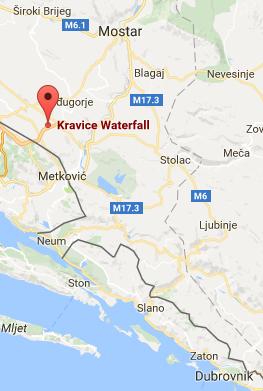 kravice map